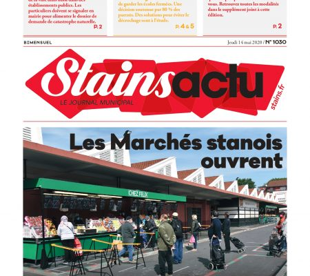 couverture Stains Actu N°1030