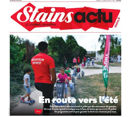 Couverture Stains Actu N°1033