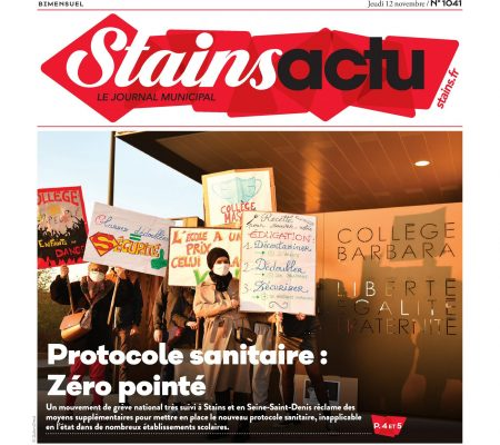Couverture Stains Actu N°1041
