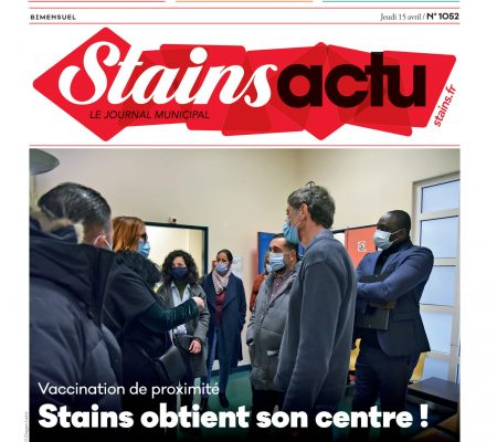 Couverture Stains Actu N°1052