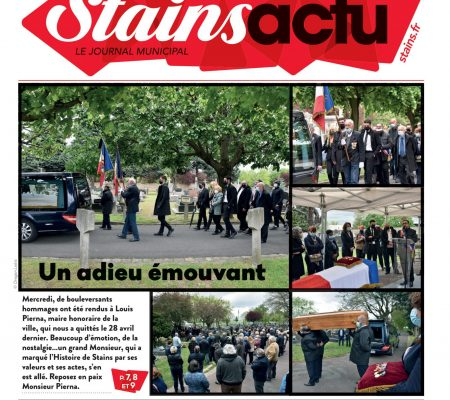 Couverture Stains Actu N°1054