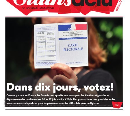 Stains Actu N°1056 couverture