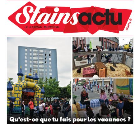 couverture Stains Actu N°1058