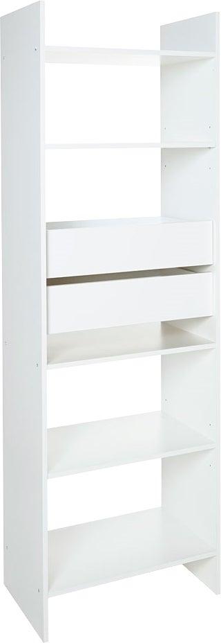Alsapan Kit D Amenagement Blanc Incluant 1 Colonne De 60cm 2 Tiroirs 1 Barre