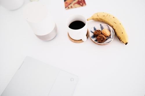 koffie en bananen