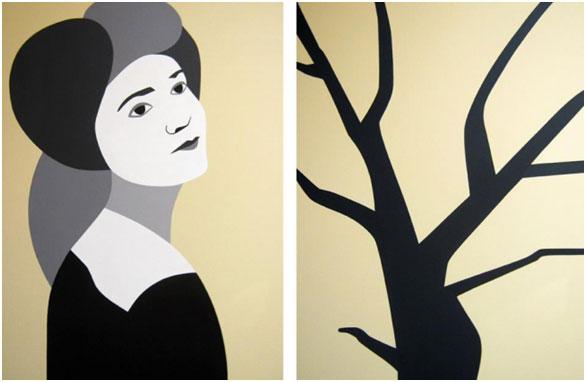 Dipinto Bellindia, Ester Grossi (2011)