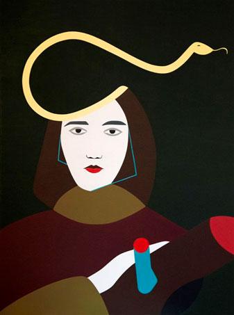 Dipinto Angizia (2013)