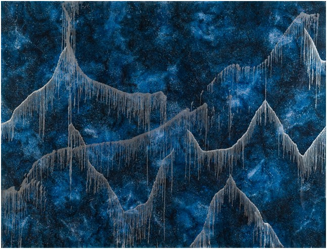 Paesaggi-della-mente,-Acrilico-su-tela,-2010