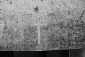 Ingresso della loggia sul fiume Aterno