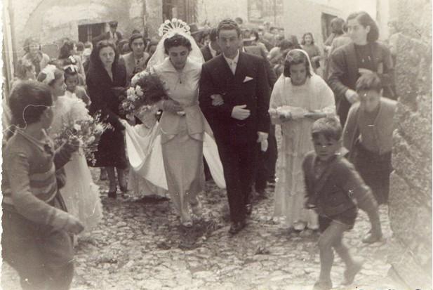 Matrimonio celebrato nello stesso paese di mia nonna