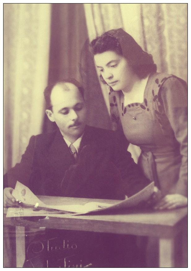 La foto di matrimonio dei miei nonni