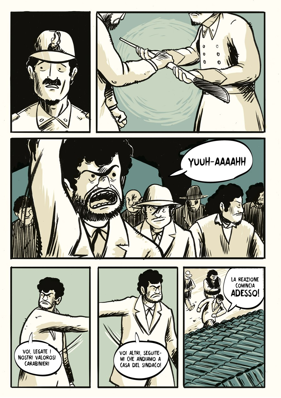 Fumetto di Mattia Moro