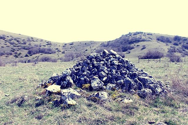 Cumuli di pietre