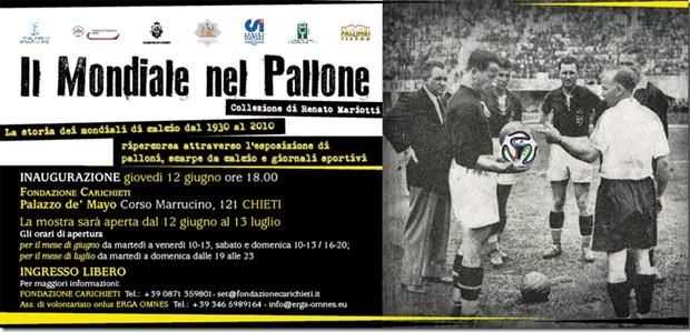 il mondiale nel pallone-Remo Mariotti-Chieti