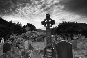 Aspetto di un comune cimitero di matrice celtica