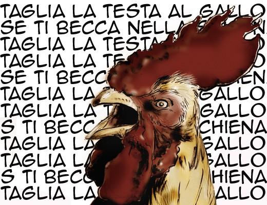 Taglia al testa la gallo se ti becca nella schiena, Ivan Graziani