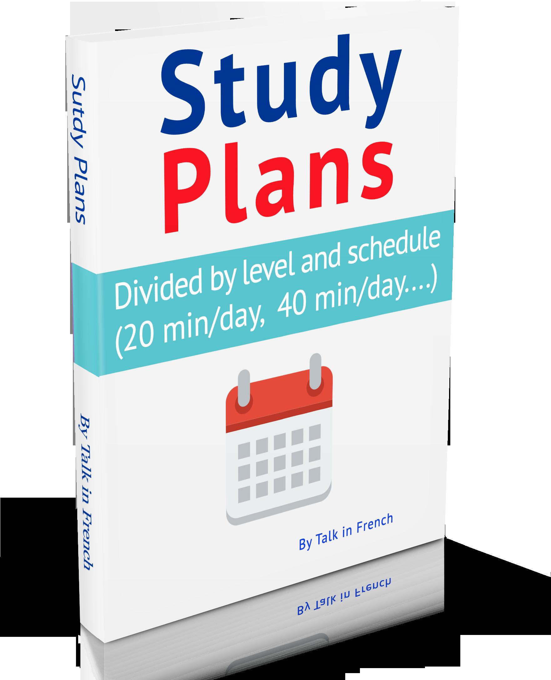 french-study-plan