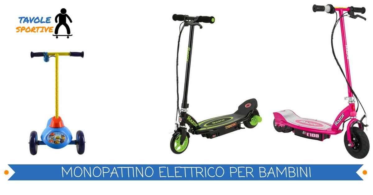 Monopattino elettrico per bambini – Miglior Monopattino Elettrico Bambini