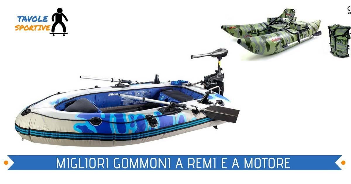 Gommone Gonfiabile – Miglior Gommone Gonfiabile a motore e a Remi
