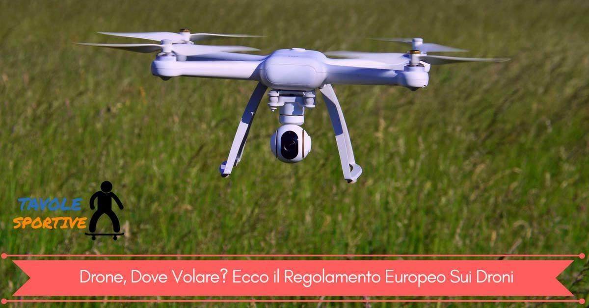 Drone, Dove Volare - Ecco il Regolamento Europeo Sui Droni