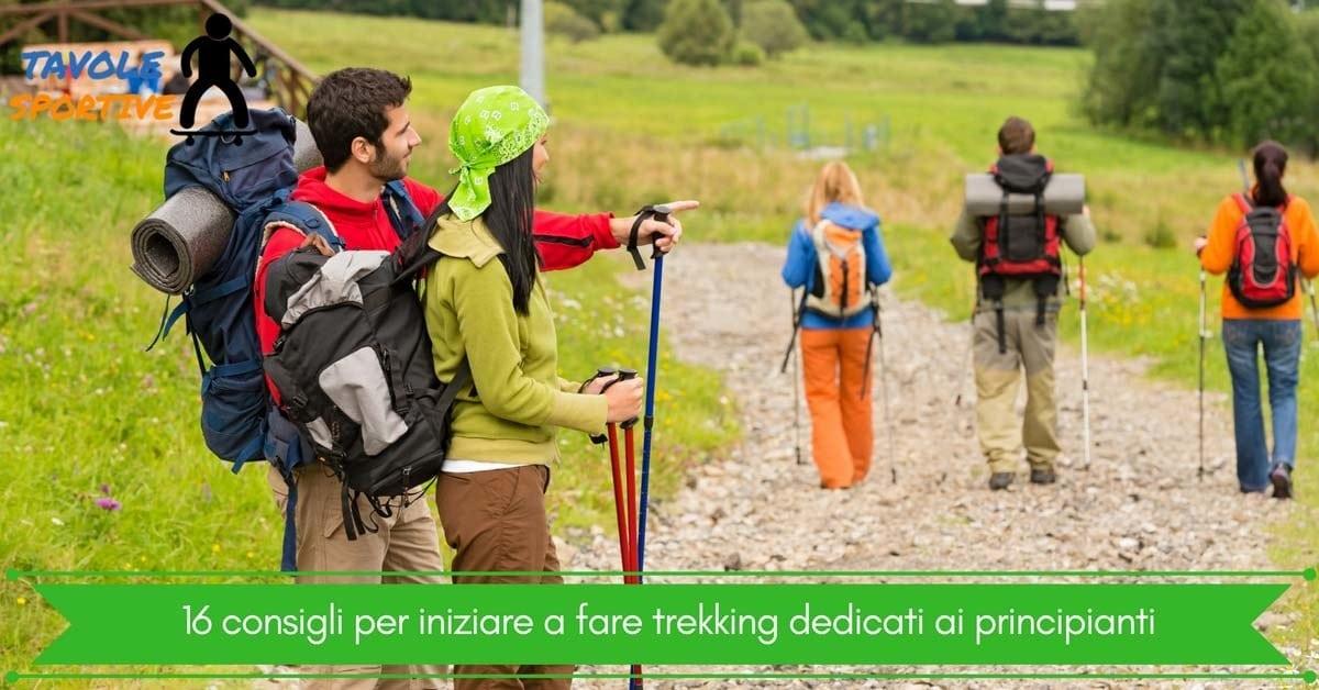 16 consigli per iniziare a fare trekking dedicati ai principianti