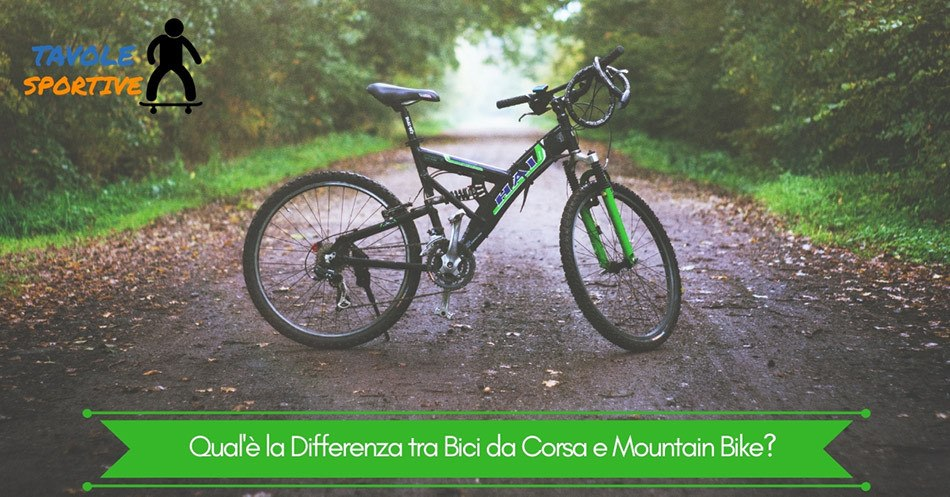 Qual'è la Differenza tra Bici da Corsa e Mountain Bike?