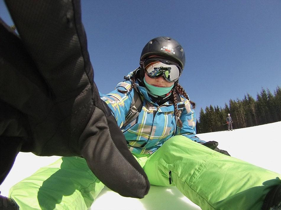 occhiali da sci snowboard