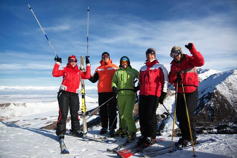 abbigliamento per sciare
