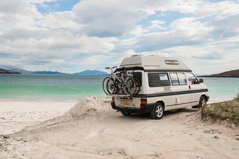 bici sul camper