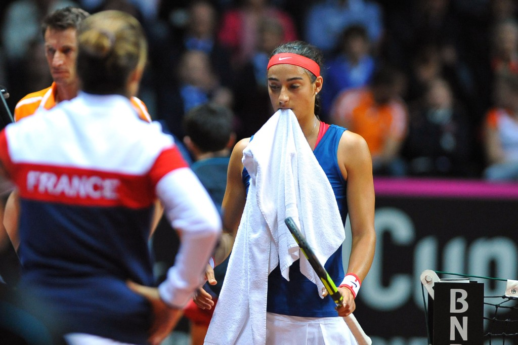 Fed Cup : la déception Garcia