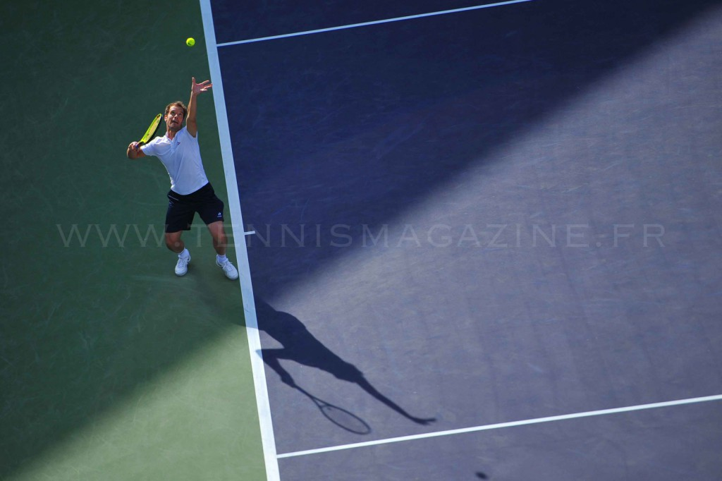 Indian Wells – La technique de Gasquet