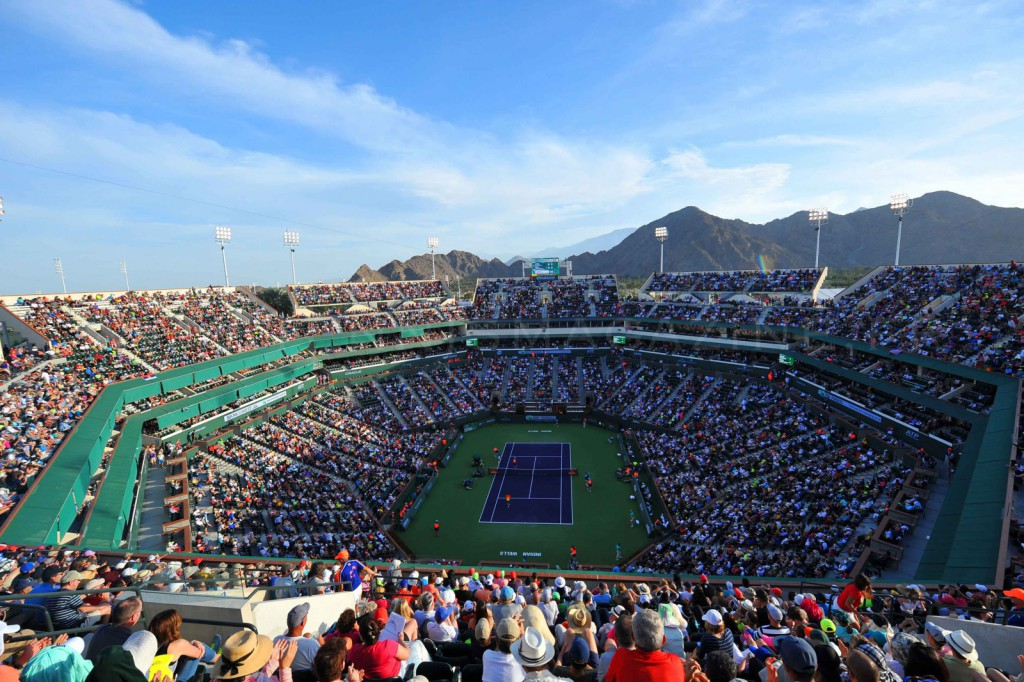 Indian Wells – Les grands courts