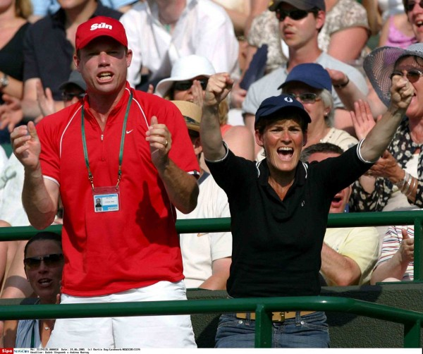 Andy Murray a remporté son 1er titre avec Mark Petchey.