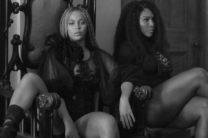 Serena met le feu avec Beyoncé
