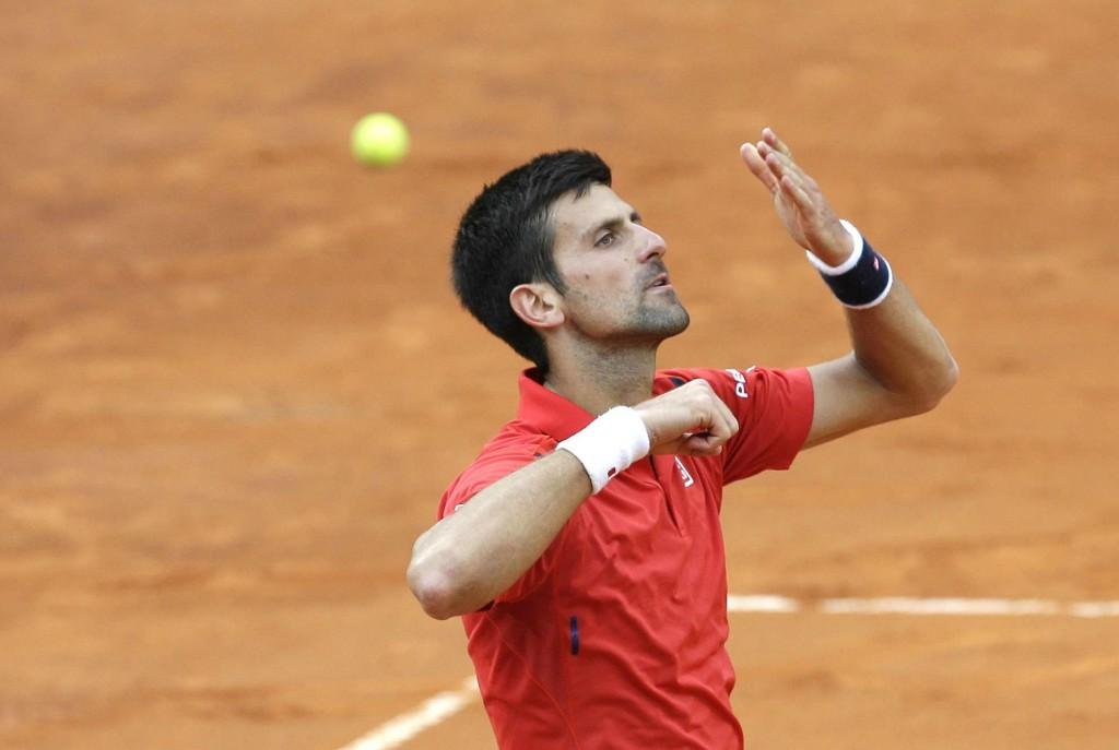 A Rome, Novak Djokovic joue à domicile