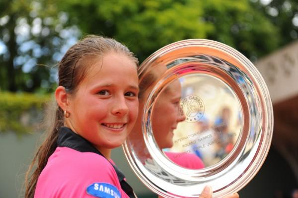 """Daria Kasatkina s'était imposée chez les juniors en 2014. Que fera-t-elle cette saison chez les """"grandes"""" ?"""