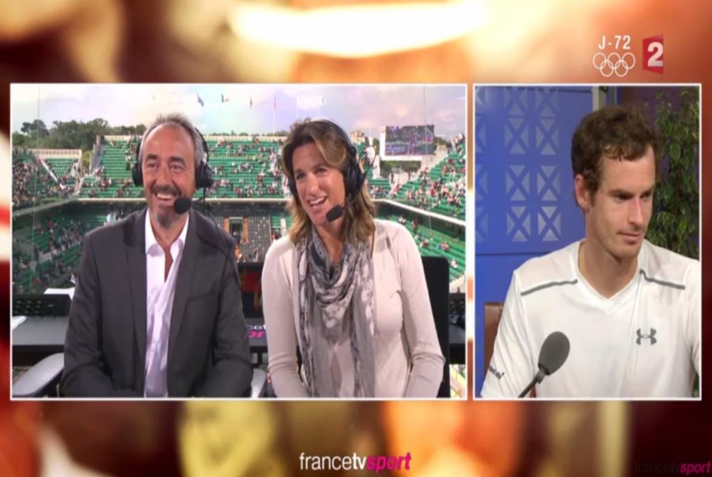 Vidéo : Quand Mauresmo interviewe… Murray