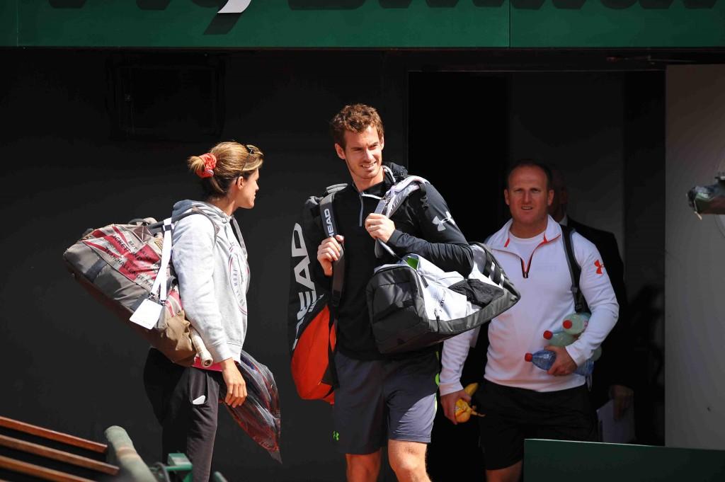 Les 6 entraîneurs d'Andy Murray chez les pros
