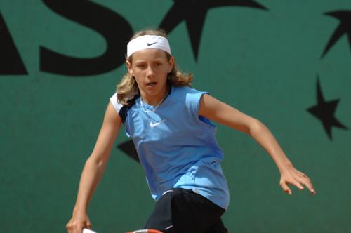 Lucas lors des championnats de France 12 ans en 2006