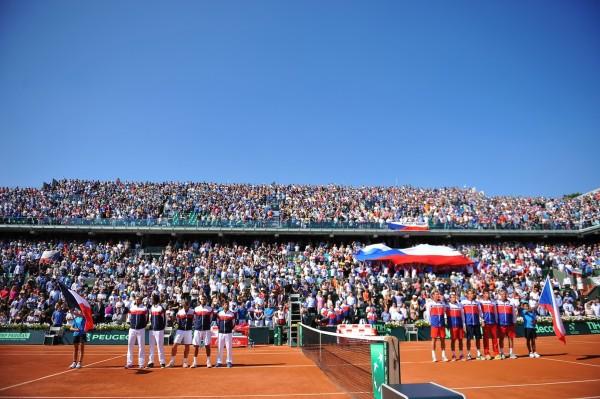 Lors de la dernière confrontation entre la France et la République tchèque, à Roland-Garros en 2014 (demi-finale), Jo-Wilfried Tsonga avait facilement dominé Lukas Rosol. On invite Jo à rééditer sa performance !