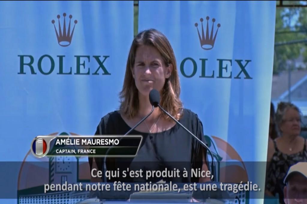 Vidéo : les larmes d'Amélie Mauresmo