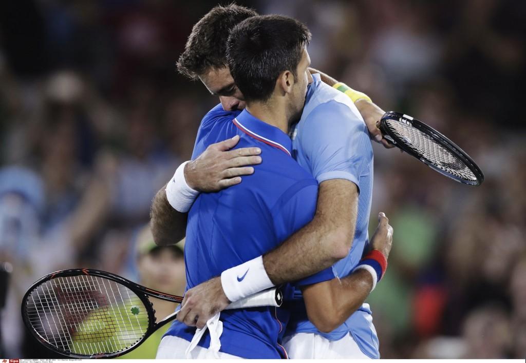 JO 2016 : Djokovic-Del Potro, un quart d'heure de folie (vidéo)