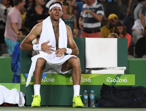 Juan Martin Del Potro épuisé et en larmes après sa défaite. Mais l'Argentin peut être très fier de lui. Le monde du tennis espère désormais le revoir très vite à ce niveau.