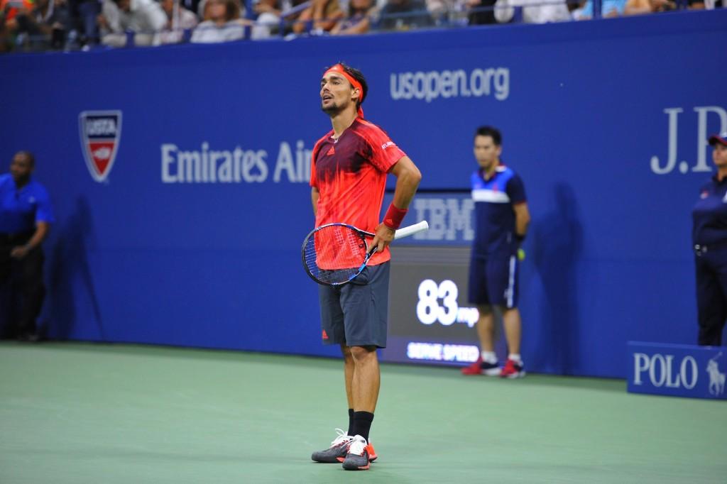 US Open : Quand Fognini et Tomic perdent le contrôle