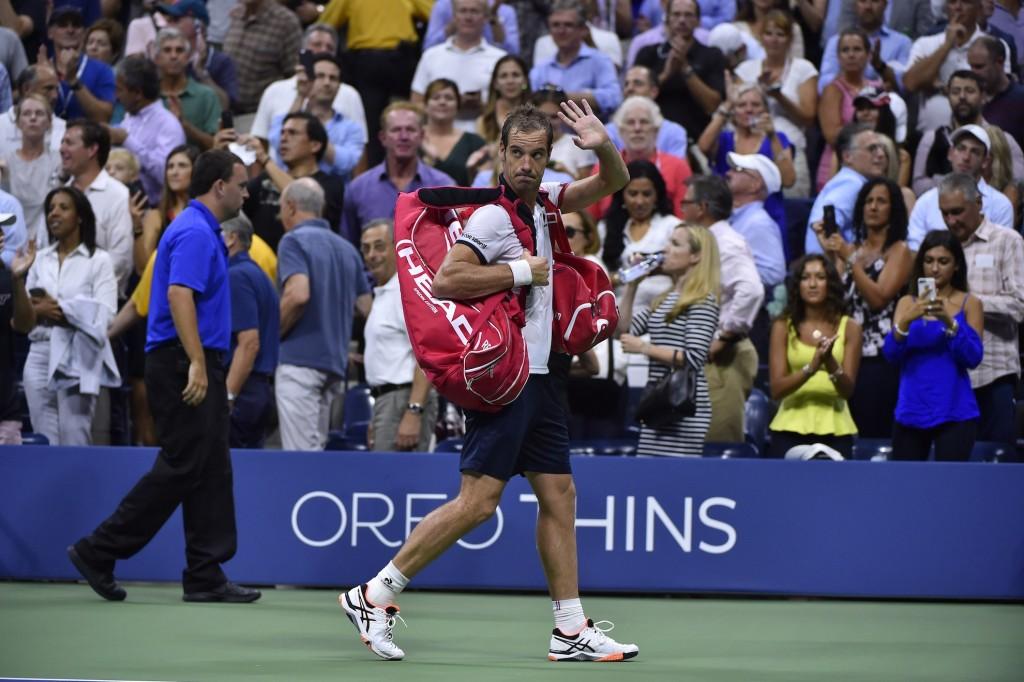 US Open : Gasquet déjà à terre