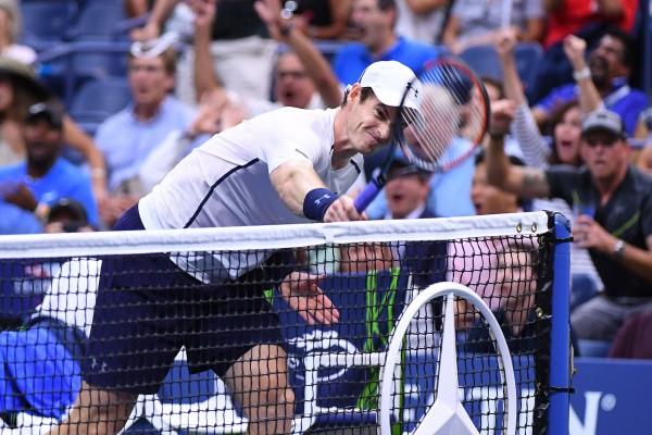 On dirait qu'il y a un peu d'eau dans le gaz entre Murray et les courts de l'US Open...