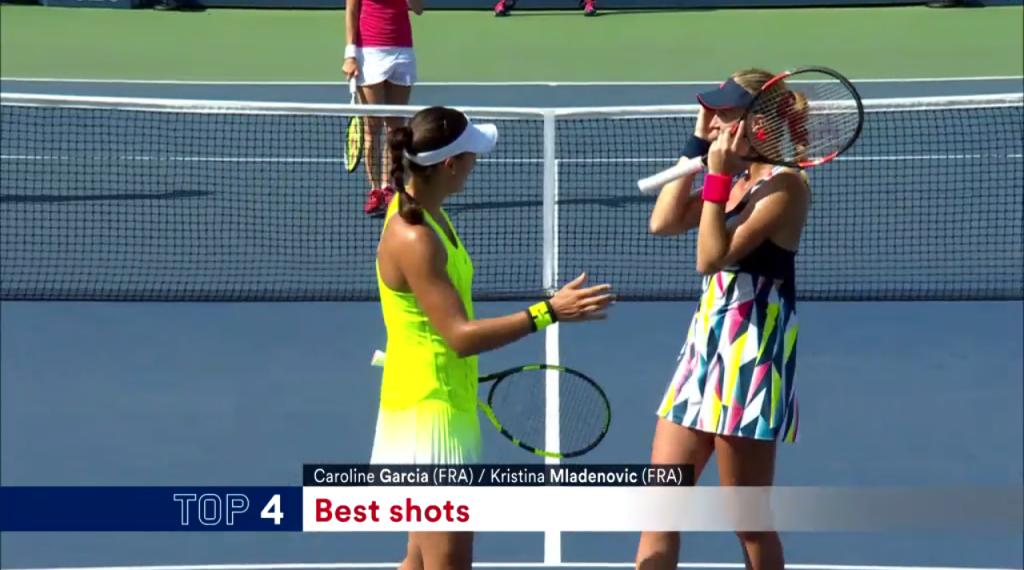 Vidéo : points de folie en double à l'US Open