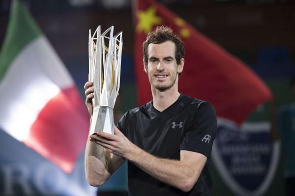 Andy Murray lors du Masters 1000 de Shanghai 2016 (Sipa)