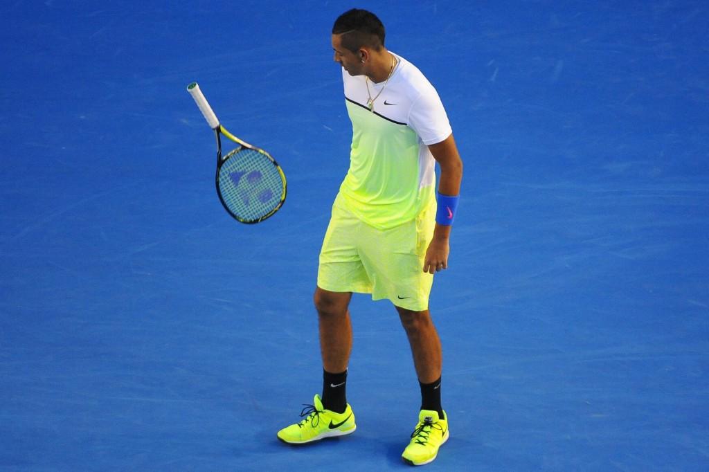 Kyrgios suspendu par l'ATP