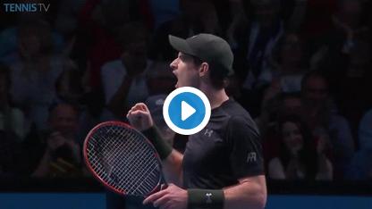 ATP Finals : Murray toujours dans la course